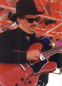 Senior member of The Groove Merchants