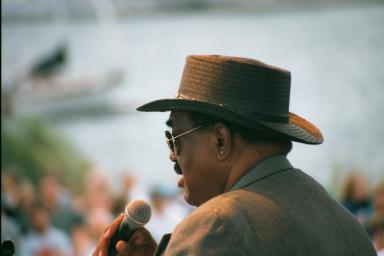 Big Walter and The Groove Merchants atBayfront Blues Festival 2000