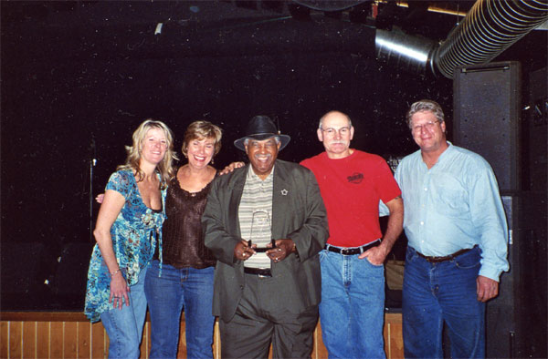 50 Years In Music Award for Big Walter Smith | Blues Music