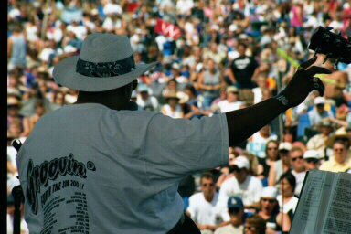 The Groove Merchants Band at Bayfront Blues Festival 2001