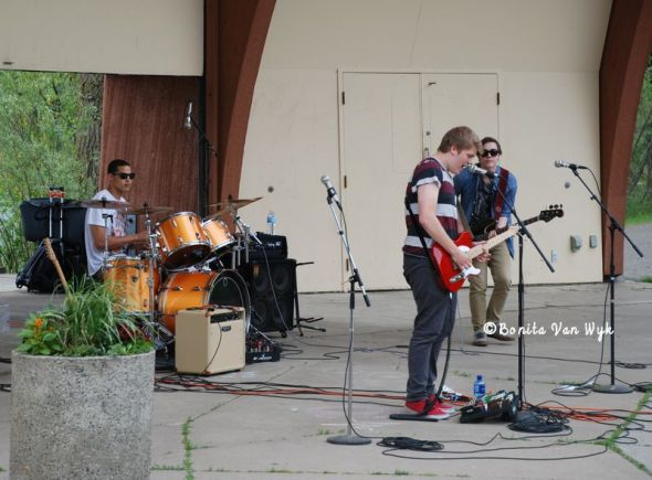 The C-Notes at Roseville Blues Fest