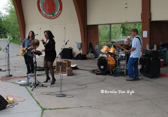 2014 MN Blues Hall of Fame Blues Art & Literature Nominee LadyJ Griot and her Root Doctors | Roseville Blues Festival