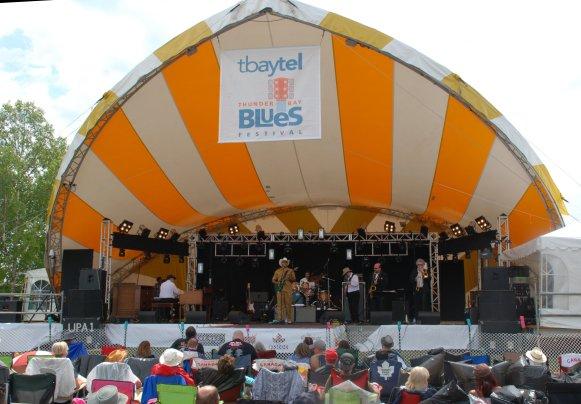 The Groove Merchants at Thunder Bay Bluesfest 2014