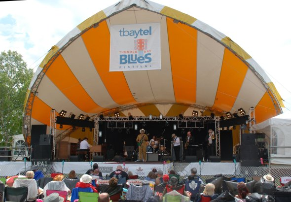 The Groove Merchants at Thunder Bay Bluesfest 2014